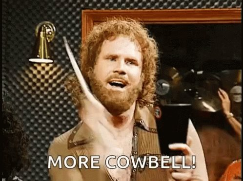 More Cowbell Snl GIF