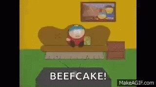 Cartman Beefcake GIF