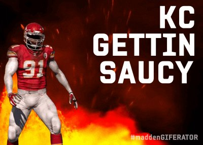Kansas City Chiefs GIF by Madden Giferator