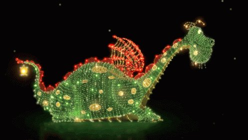 Relaxing Electrical Parade GIF