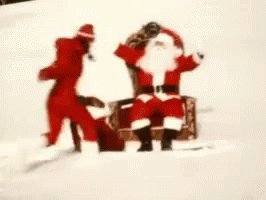 All IWant For Christmas With Santa GIF