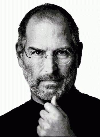 Steve Jobs Thinking GIF