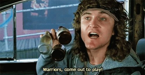 Warriors Come Out To Play The Warriors GIF