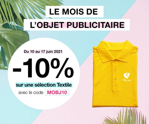 Image for the Tweet beginning: Le mois de l'objet publicitaire