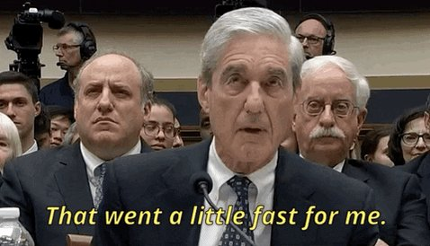 Robert Mueller GIF by GIPHY News