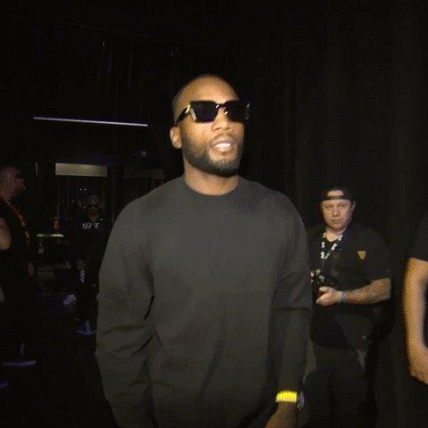 Rocky hittin' the stage 💢  [ @Leon_EdwardsMMA | #UFC263 ] https://t.co/7WTKmqG80u
