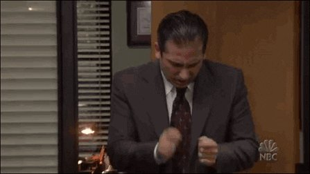 the office drum GIF