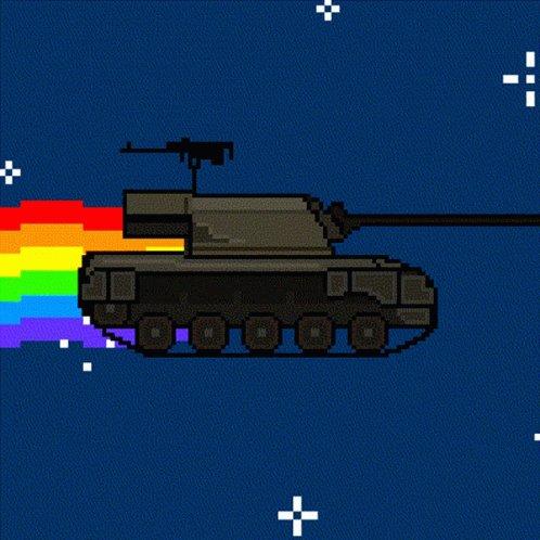Nyan Hellcat GIF
