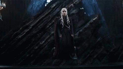 Emilia Clarke Game Of Thrones GIF