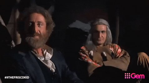 """Happy Birthday, Gene Wilder!  If you\ve never seen \""""The Frisco Kid\"""" check it out"""