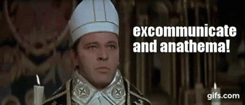 Thomas Becket Excommunicate Anathema Heresie GIF
