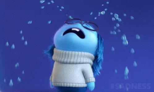 Blue Cry GIF
