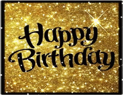 I would like to wish Peter Bergman a very happy birthday!