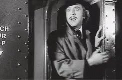Happy birthday, Gene Wilder. Thank you for a large slab of my happier childhood memories.