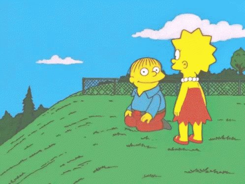 Simpsons Rolling GIF