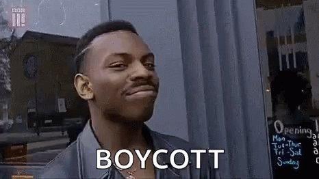 Smart Boycott GIF