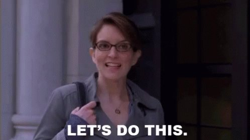 Let's Do This - 30 Rock GIF