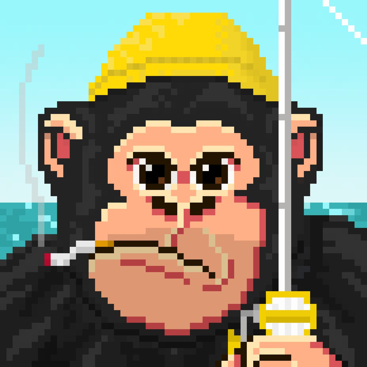 🦍💋🏋️♀️Woman want me, fish fear me! 🎣☠️🦍  discord.com/invite/RTZQn2M…  #NFT #PixeloftheApes #ApesTogetherStrong #NFTCollectors #NFTCommunity #NFTsForGood  #NFTPixels #OpenSea @OpenSea #sea  🦍🍣Remember Apes Together Strong🍣🦍