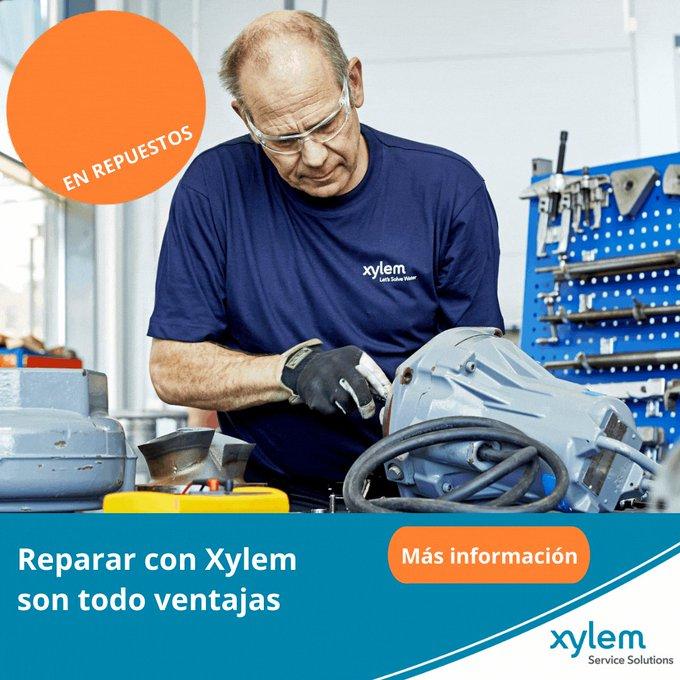 Si tus equipos tienen que funcionar 24/7, necesitas tener a tu disposición lo necesario ante una avería inesperada. En #Xylem tenemos todas las herram...
