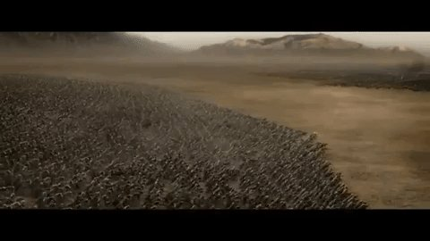 lord of the rings help GIF