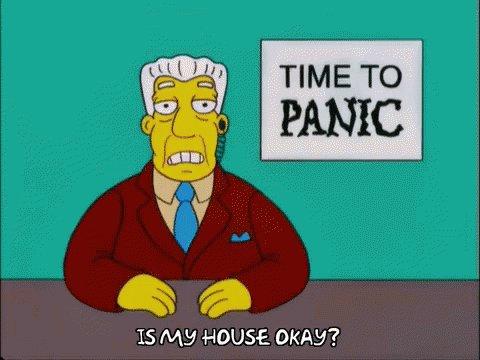 Panic Time To Panic GIF