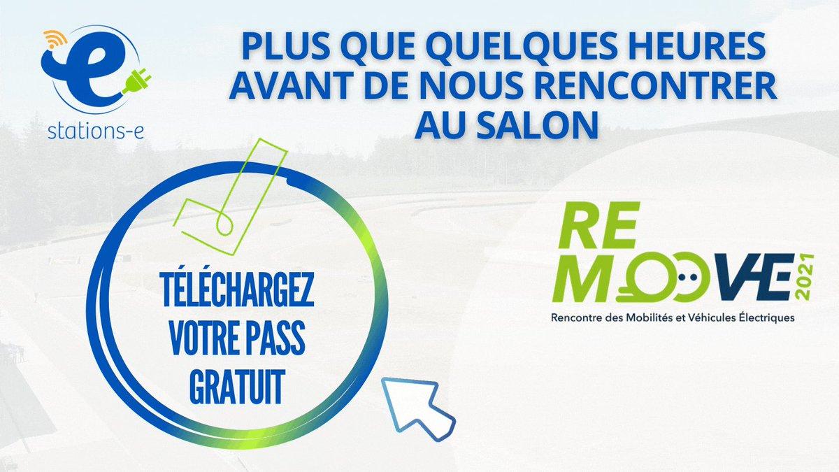 Image for the Tweet beginning: Stations-e, sponsor du salon #remoove,