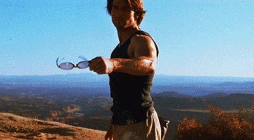 Tom Cruise Exploding Sunglasses GIF