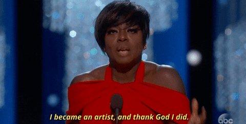 Viola Davis Oscars GIF by T...