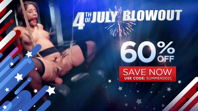 🎆 Need a spark in your life? KINK is 60% off! 🎆 Join NOW: https://t.co/PDtBMs3I4L  #4thofjuly #4thofjulysale