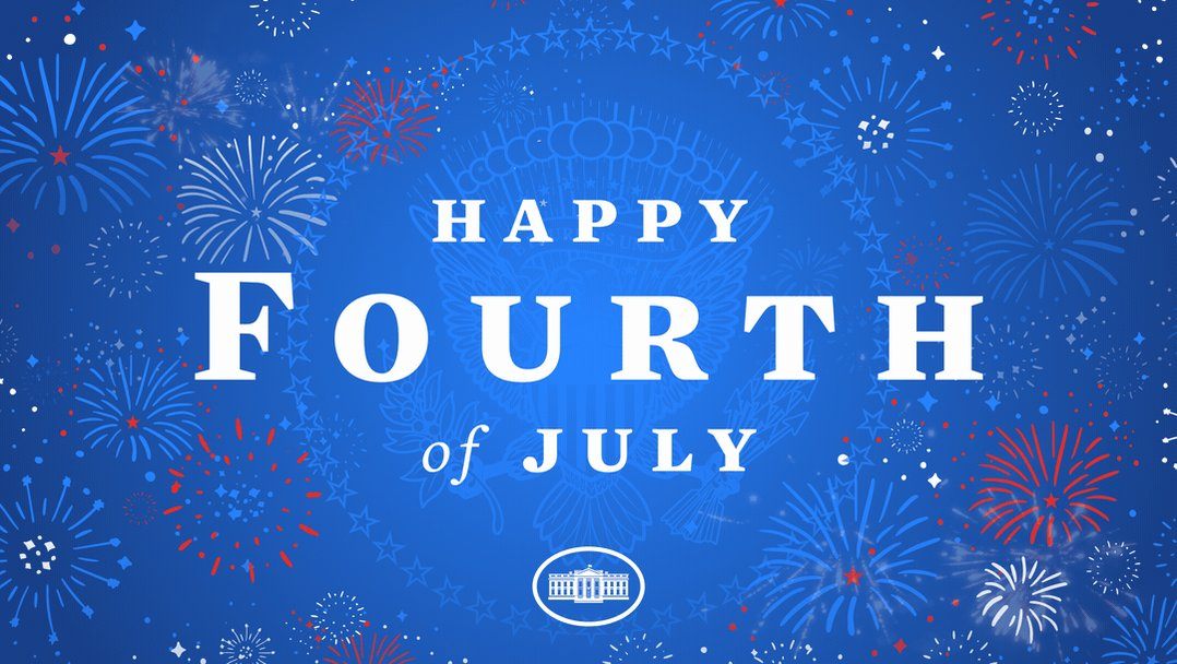 Happy Fourth of July America 🇺🇸 Onward, together. https://t.co/oe52M3rbLF