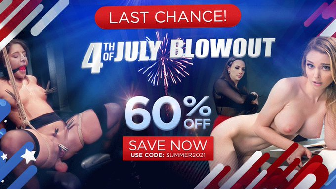 ⭐️  KINK's 4th of July BLOWOUT sale ends SOON ⭐ Get 60% off KINK for LIFE️ | Join NOW: https://t.co/PDtBMs3I4L  #4thofjuly