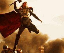 Thor Hammer GIF