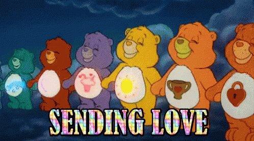 Sending Love Rainbow GIF