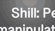 Shill Mark Manipulation Manipulated Used GIF