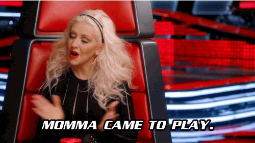 christina aguilera television GIF by The Voice