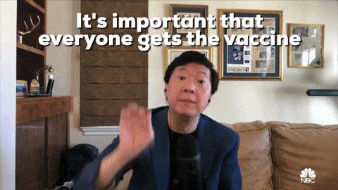 Ken Jeong Vaccine GIF by NBC