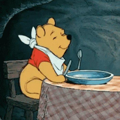 Winnie The Pooh Hungry GIF