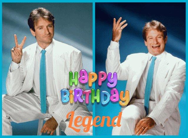 Happy Birthday to Robin Williams in heaven