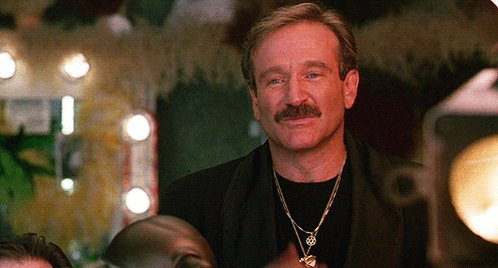 Happy birthday to my favorite actor of all time, Robin Williams.   I never knew you, but I miss you.