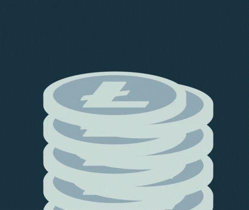 Litecoin Stack Crypto GIF