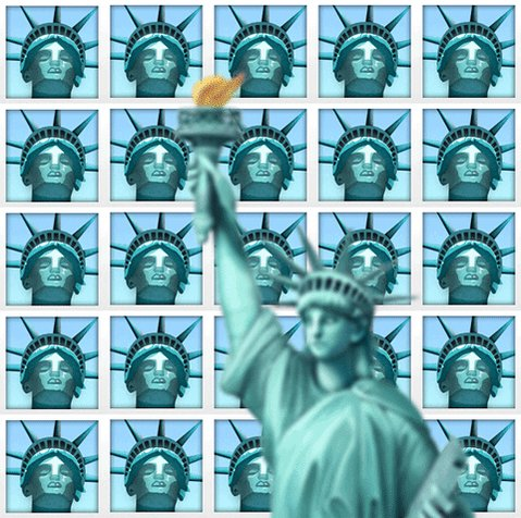 statue of liberty nyc GIF by Jess Mac
