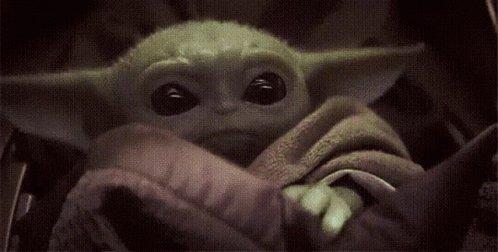 Yoda Baby Yoda GIF