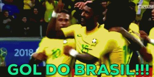Gol Do Brasil, Futebol, Brasileiro, Comemora GIF