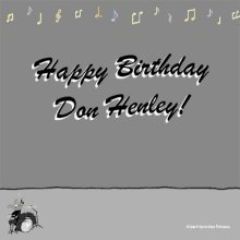 Happy 74th birthday to Don Henley, Founder of The Eagles with the late great Glenn Frey!!!