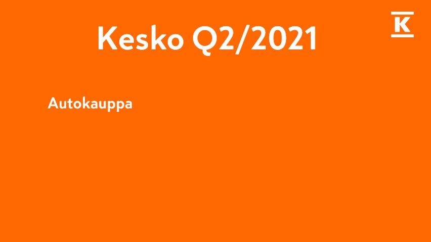 Autokaupassa 🚗 uusien autojen myynnin kasvu 86 %, täyssähköautoja jo 23 % myynnistä.  Keskon edustamien merkkien yhteenlaskettu markkinaosuus lähes 20%. Tavoitteena autokaupan paras asiakaskokemus Suomessa. #KeskoQ2 https://t.co/k7iLDh2DmQ