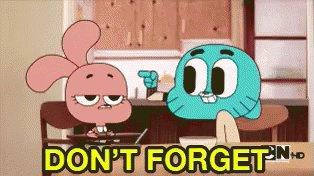 Reminder Remember GIF by memecandy