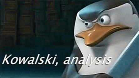 Kowalski Analysis Thinking GIF