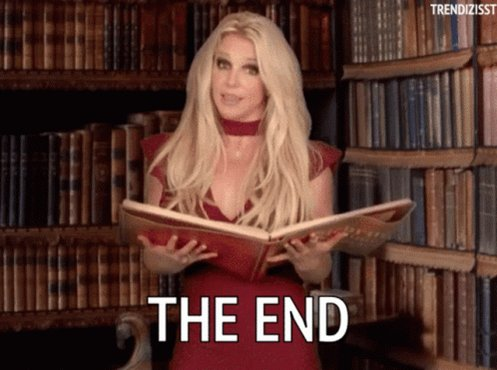 The End Britney GIF