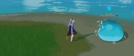 【キャラクター紹介 スキル編】 白鷺氷華 神里綾華 元素スキル「神里流·氷華」 氷の華を咲かせ、周囲の敵をノックバックし氷元素範囲ダメージを与える。  #原神 #Genshin
