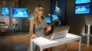 Felicity Arrow GIF
